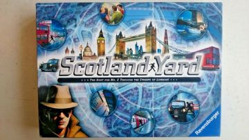 Scotland Yard Game ..By Ravensburger Games 2014 (New Unplayed)